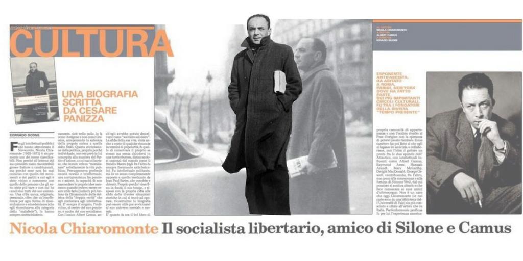 Nicola Chiaromonte, il socialista libertario