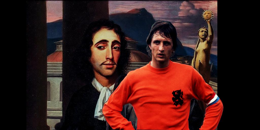 Cruijff e Spinoza, perché calcio e filosofia vanno a braccetto