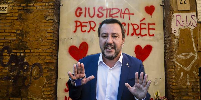 La propaganda di Matteo Salvini