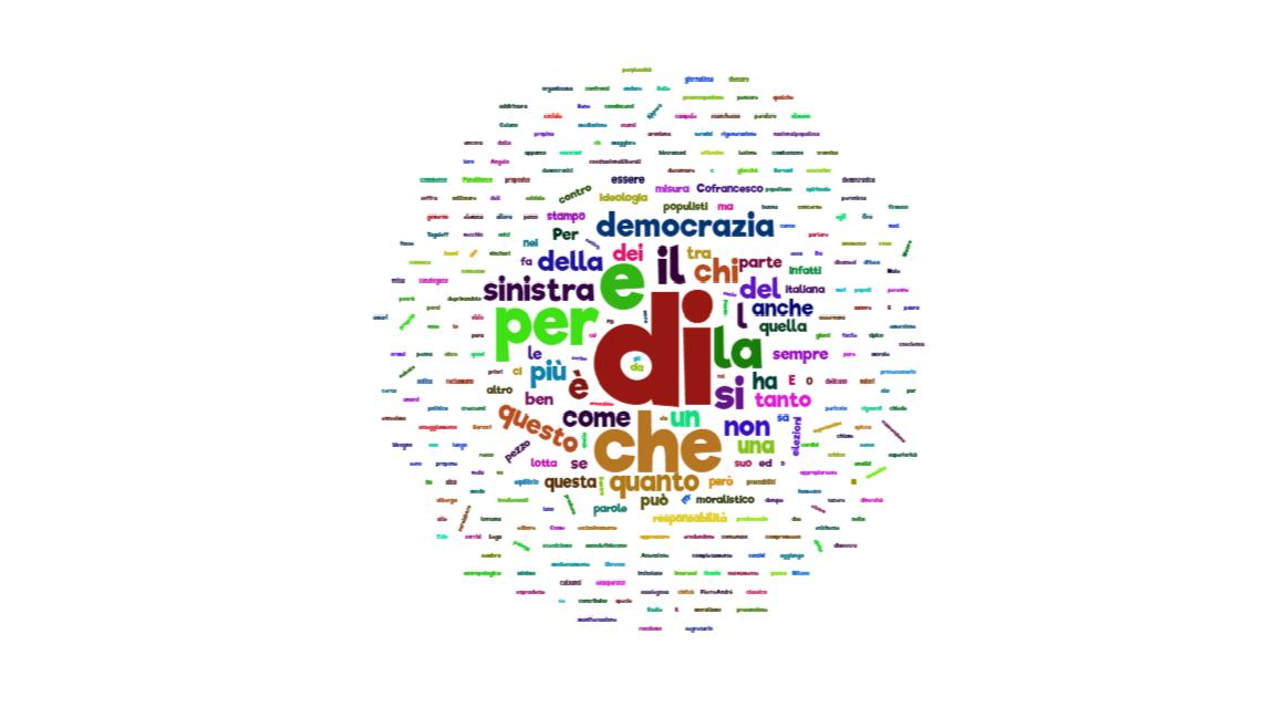 Sinistra, moralismo e democrazia
