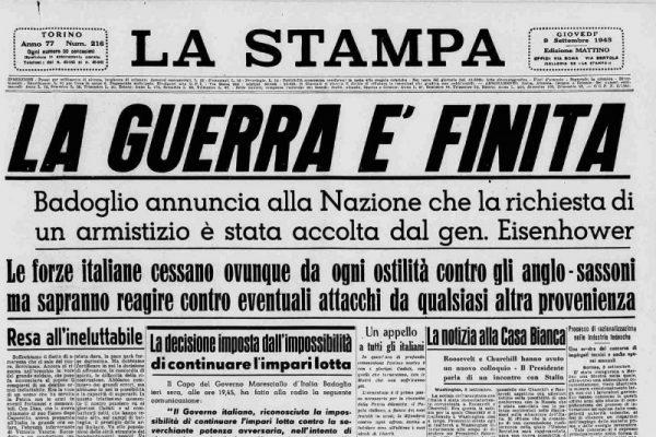 L'8 settembre, 78 anni dopo